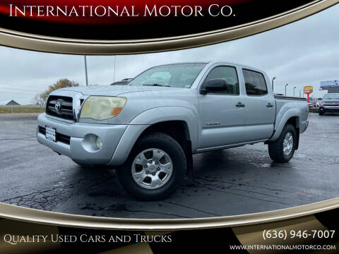 2006 Toyota Tacoma for sale at International Motor Co. in St. Charles MO