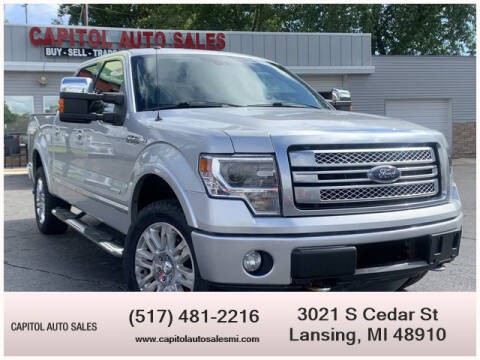 2013 Ford F-150 for sale at Capitol Auto Sales in Lansing MI