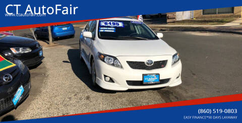 2009 Toyota Corolla for sale at CT AutoFair in West Hartford CT