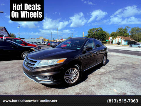 2013 Honda Crosstour for sale at Hot Deals On Wheels in Tampa FL