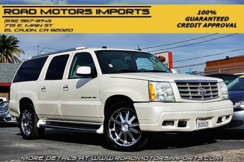 2004 Cadillac Escalade ESV for sale at Road Motors Imports in El Cajon CA