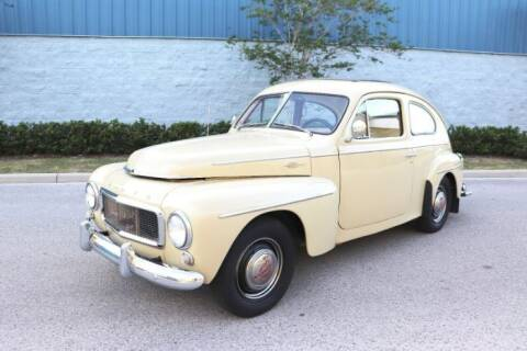 1958 Volvo PV444 for sale at Classic Car Deals in Cadillac MI