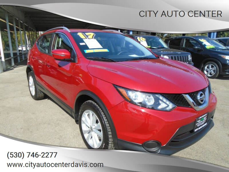 2017 Nissan Rogue Sport for sale at City Auto Center in Davis CA