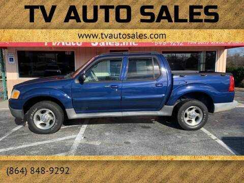 2005 Ford Explorer Sport Trac for sale at TV Auto Sales in Greer SC