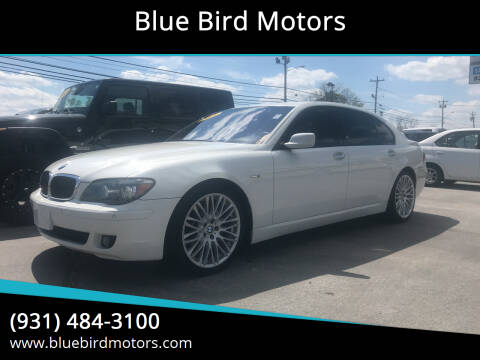 2008 BMW 7 Series for sale at Blue Bird Motors in Crossville TN