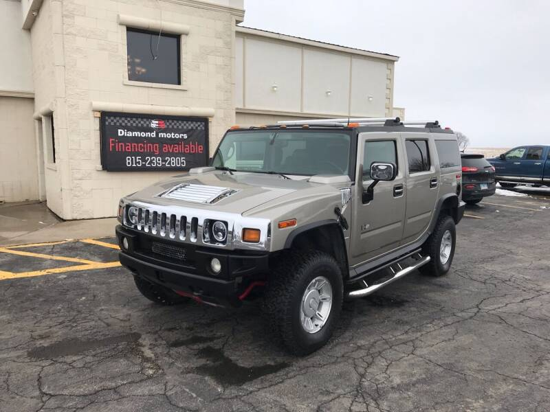 2003 HUMMER H2 for sale at Diamond Motors in Pecatonica IL