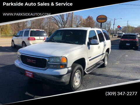 2003 GMC Yukon for sale at Parkside Auto Sales & Service in Pekin IL