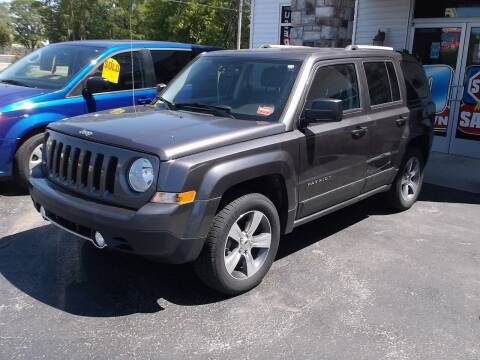 2017 Jeep Patriot for sale at Victorian City Car Port INC in Manistee MI