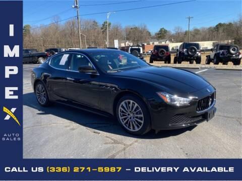 2017 Maserati Ghibli for sale at Impex Auto Sales in Greensboro NC