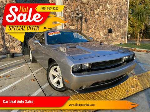 2014 Dodge Challenger for sale at Car Deal Auto Sales in Sacramento CA