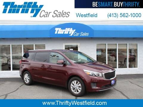 2016 Kia Sedona for sale at Thrifty Car Sales Westfield in Westfield MA