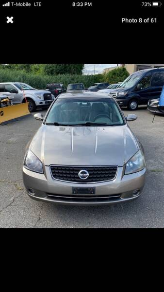 2006 Nissan Altima for sale at Worldwide Auto Sales in Fall River MA