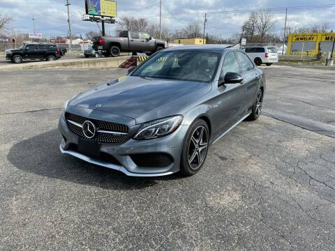 2018 Mercedes-Benz C-Class for sale at Dean's Auto Sales in Flint MI