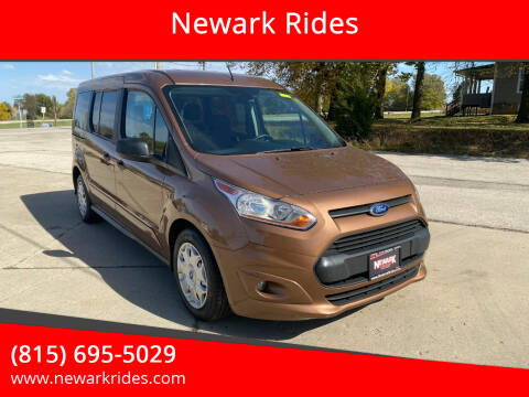 2014 Ford Transit Connect Wagon for sale at Newark Rides in Newark IL