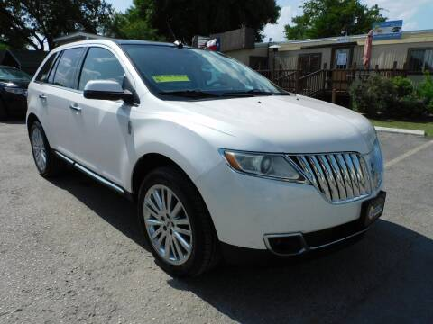 2011 Lincoln MKX for sale at Midtown Motor Company in San Antonio TX
