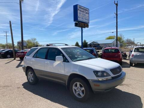 1999 Lexus RX 300 for sale at AFFORDABLY PRICED CARS LLC in Mountain Home ID