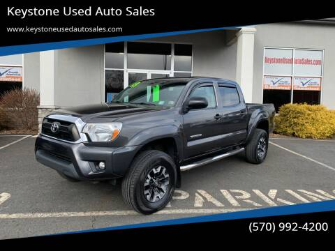 2013 Toyota Tacoma for sale at Keystone Used Auto Sales in Brodheadsville PA