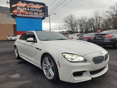 2014 BMW 6 Series for sale at Auto Outlet Sales and Rentals in Norfolk VA