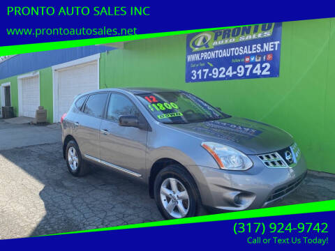 2012 Nissan Rogue for sale at PRONTO AUTO SALES INC in Indianapolis IN