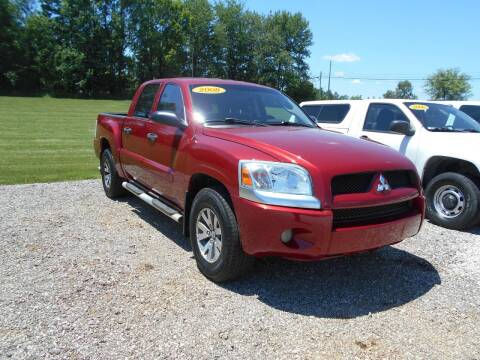 2008 Mitsubishi Raider for sale at BABCOCK MOTORS INC in Orleans IN