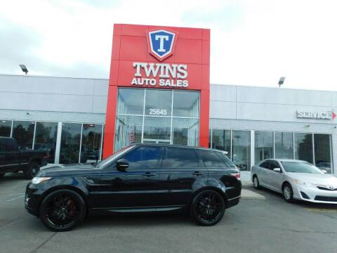2016 Land Rover Range Rover Sport for sale at Twins Auto Sales Inc Redford 1 in Redford MI
