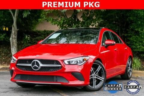 2020 Mercedes-Benz CLA for sale at Gravity Autos Atlanta in Atlanta GA