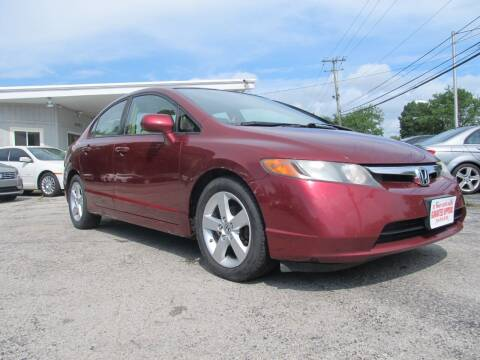 2008 Honda Civic for sale at St. Mary Auto Sales in Hilliard OH