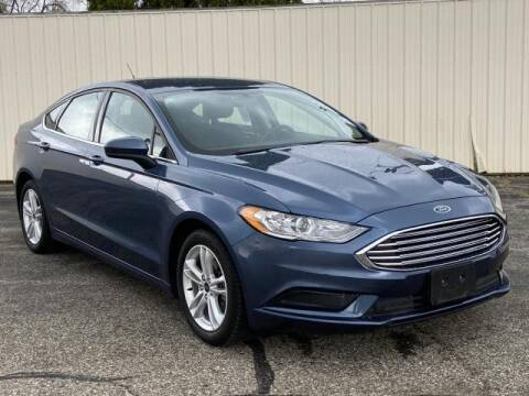 2018 Ford Fusion for sale at Miller Auto Sales in Saint Louis MI