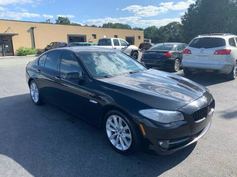 2011 BMW 5 Series for sale at EMH Imports LLC in Monroe NC
