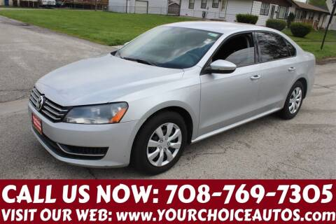 2012 Volkswagen Passat for sale at Your Choice Autos in Posen IL