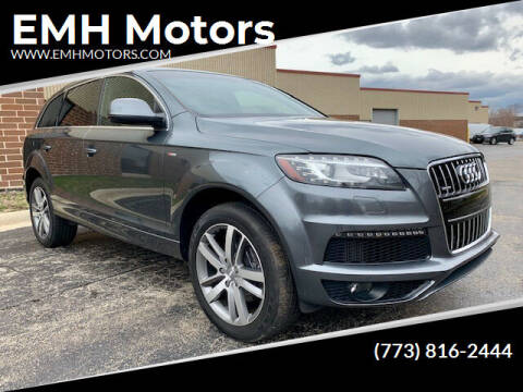 2012 Audi Q7 for sale at EMH Motors in Rolling Meadows IL
