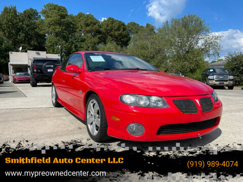 2004 Pontiac GTO for sale at Smithfield Auto Center LLC in Smithfield NC