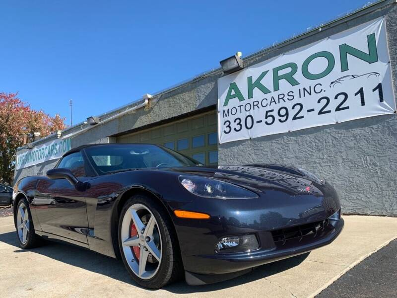 2013 Chevrolet Corvette for sale at Akron Motorcars Inc. in Akron OH