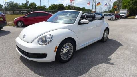 2013 Volkswagen Beetle Convertible for sale at Das Autohaus Quality Used Cars in Clearwater FL