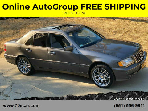 1999 Mercedes-Benz C-Class for sale at Online AutoGroup FREE SHIPPING in Riverside CA