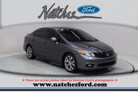 2012 Honda Civic for sale at Auto Group South - Natchez Ford Lincoln in Natchez MS
