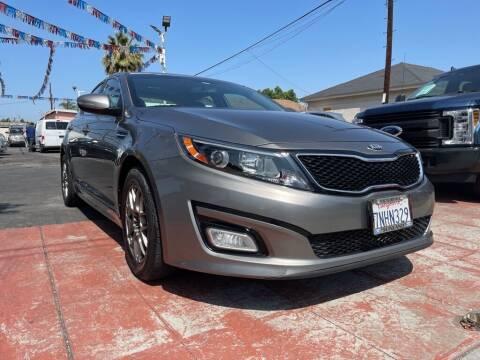 2015 Kia Optima for sale at Tristar Motors in Bell CA