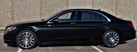 2015 Mercedes-Benz S-Class for sale at M G Motor Sports in Tulsa OK