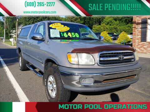 2002 Toyota Tundra for sale at Motor Pool Operations in Hainesport NJ
