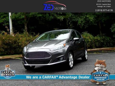 2019 Ford Fiesta for sale at Zed Motors in Raleigh NC
