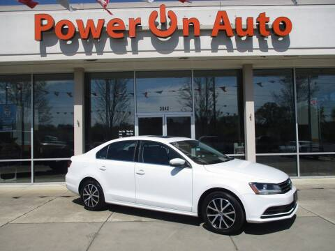 2017 Volkswagen Jetta for sale at Power On Auto LLC in Monroe NC