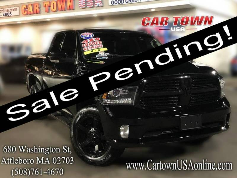 2013 RAM Ram Pickup 1500 for sale at Car Town USA in Attleboro MA