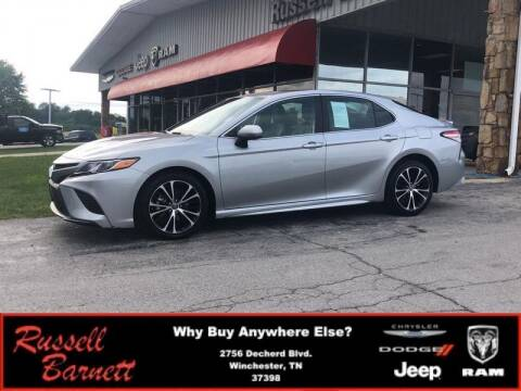 2019 Toyota Camry for sale at Russell Barnett Chrysler Dodge Jeep Ram in Winchester TN