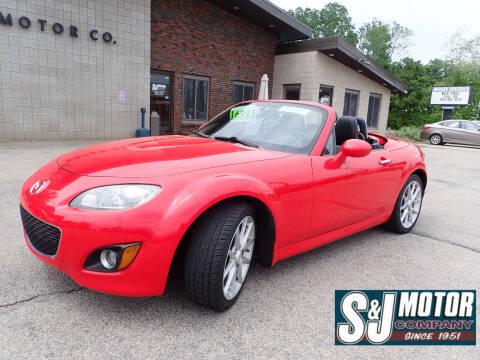 2010 Mazda MX-5 Miata for sale at S & J Motor Co Inc. in Merrimack NH