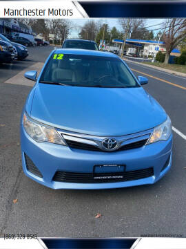 2012 Toyota Camry for sale at Manchester Motors in Manchester CT