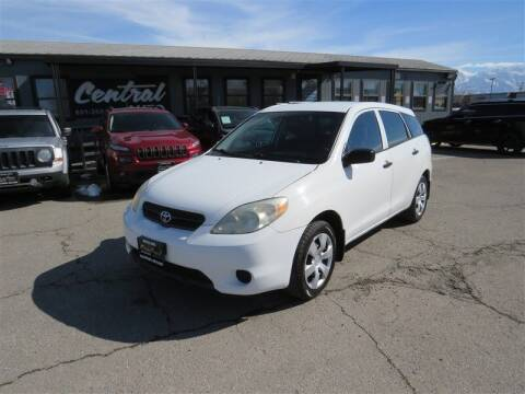 2006 Toyota Matrix for sale at Central Auto in South Salt Lake UT