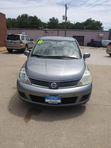 2008 Nissan Versa for sale at Arak Auto Group in Bourbonnais IL