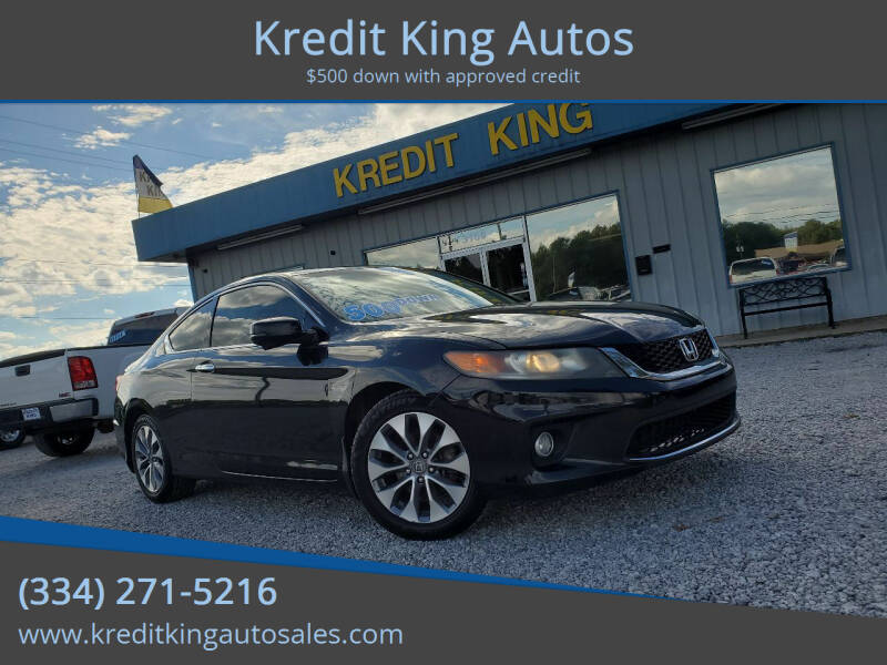 2013 Honda Accord for sale at Kredit King Autos in Montgomery AL
