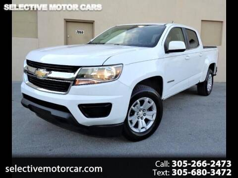2016 Chevrolet Colorado for sale at Selective Motor Cars in Miami FL