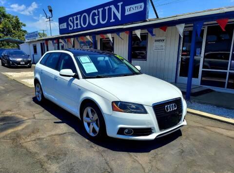2012 Audi A3 for sale at Shogun Auto Center in Hanford CA